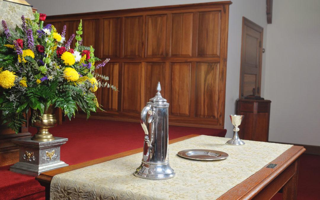 Mullins Presbyterian Lord's Table