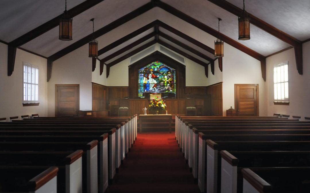 Mullins Presbyterian Church Sanctuary